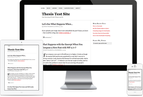 thesis and buddypress