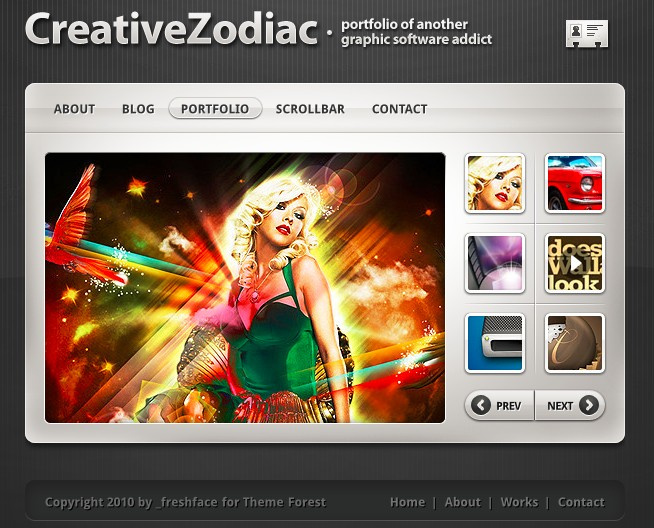 Creative Zodiac Theme
