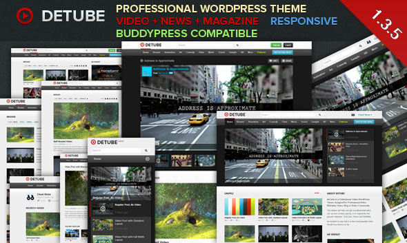 deTube Theme