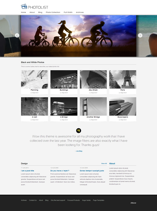 Photolist Theme