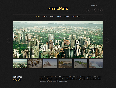 PhotoNote Theme