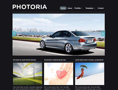 Photoria Theme
