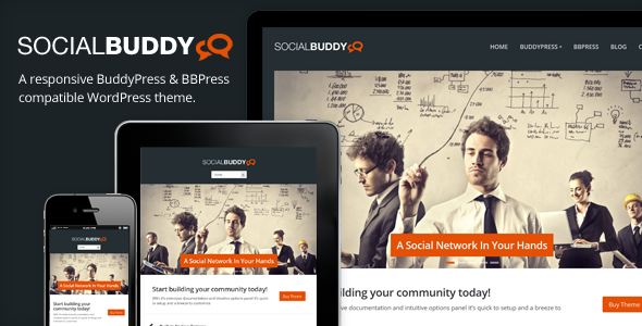 Social Buddy Theme