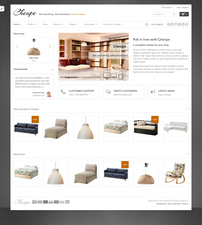 Cheope Shop Theme