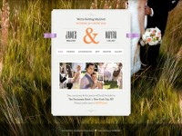 Just Married Theme