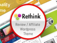 Rethink Product Review / Affiliate Theme