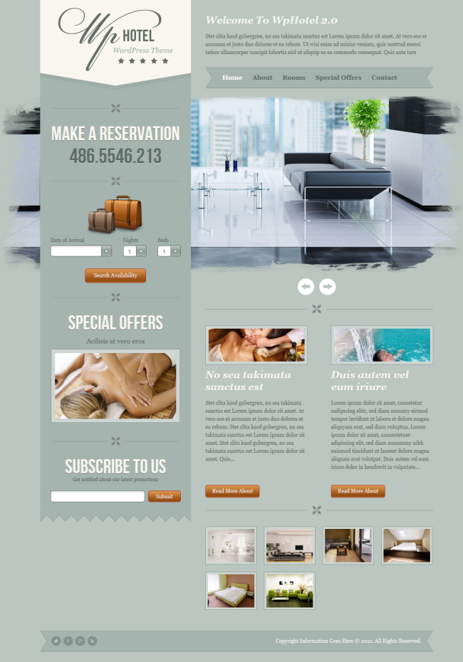 25+ Best WordPress Hotel Themes | Premium Themes Plugins