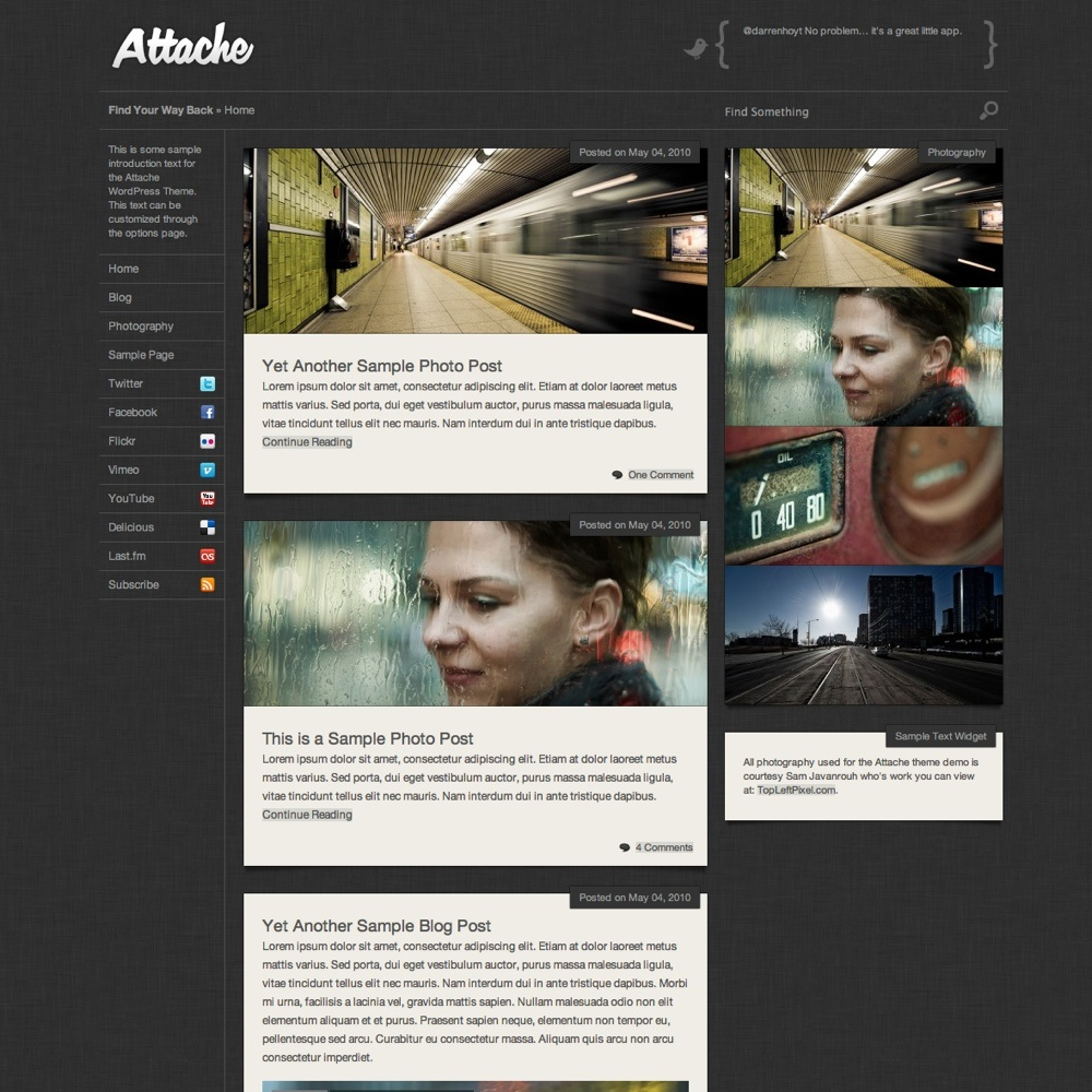 Attache Theme