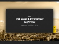 Best WordPress Themes for Conference and Event 2013