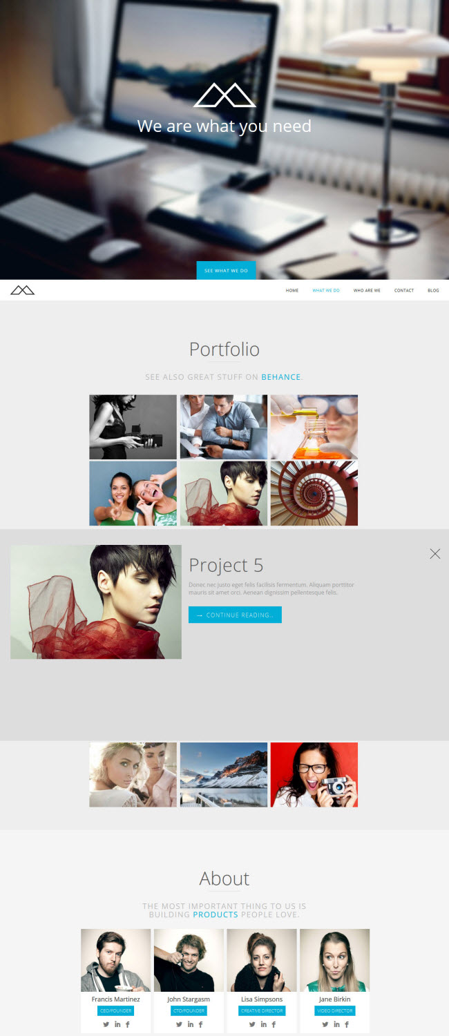 HalfCreative Theme