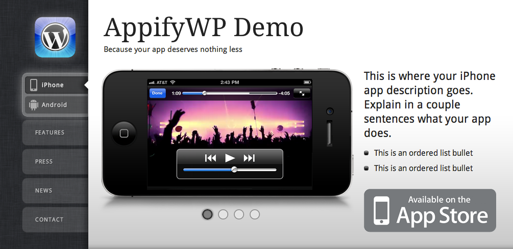 AppifyWP Theme