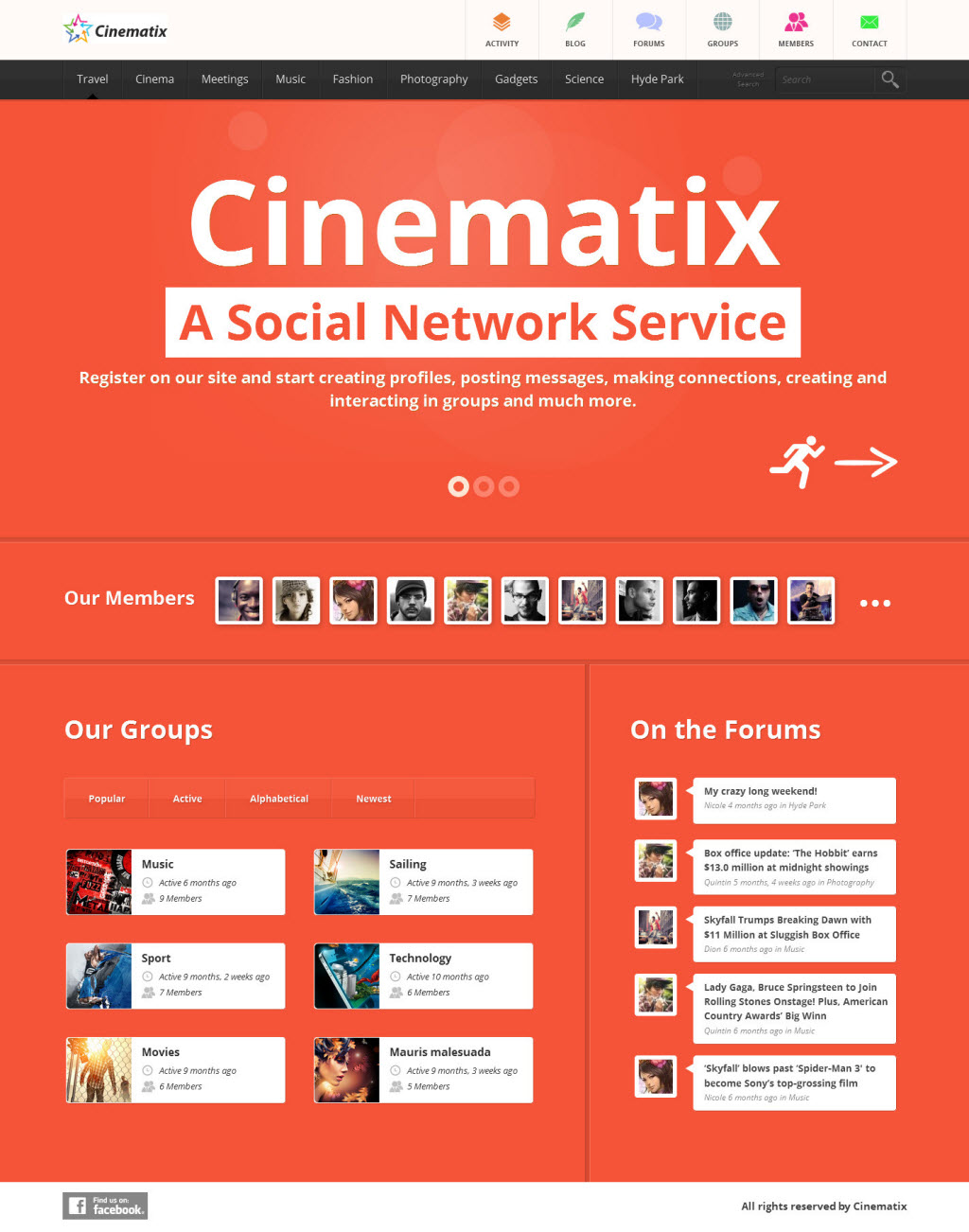 Cinematix Theme