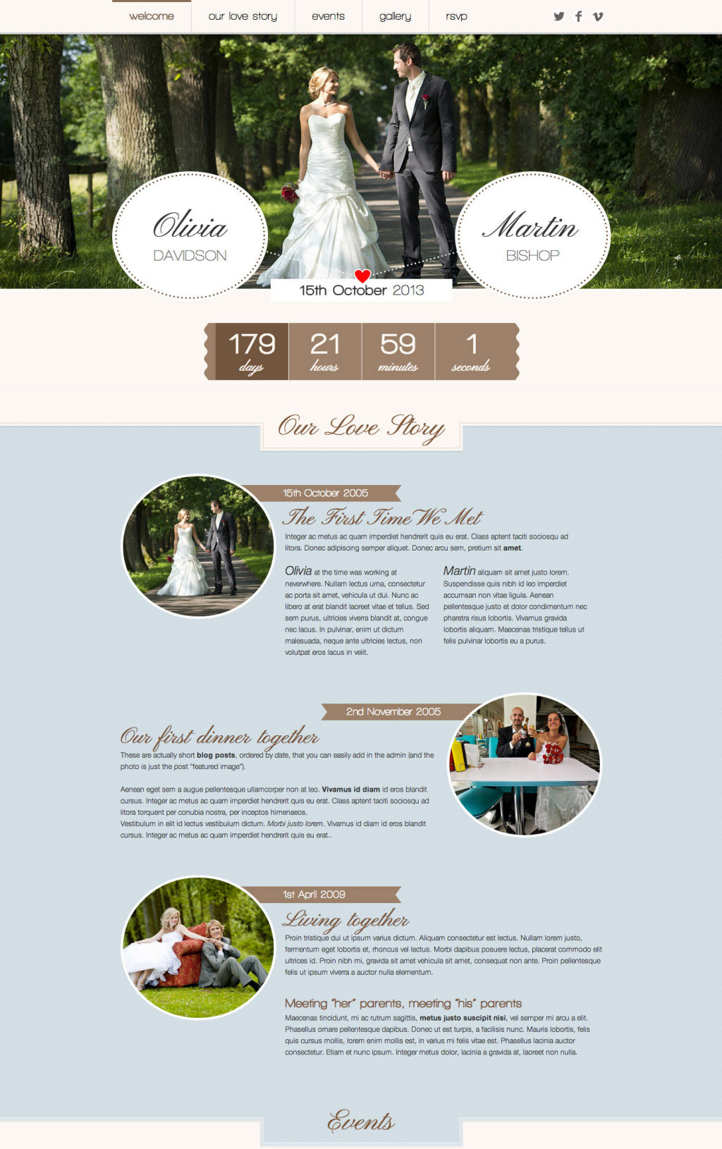 Romantic Wedding Theme