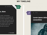 Wordpress Facebook Timeline Style Themes