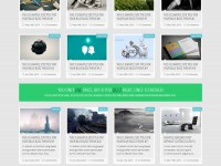 Blue Blog Theme