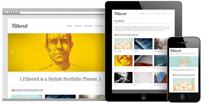 Filtered Theme