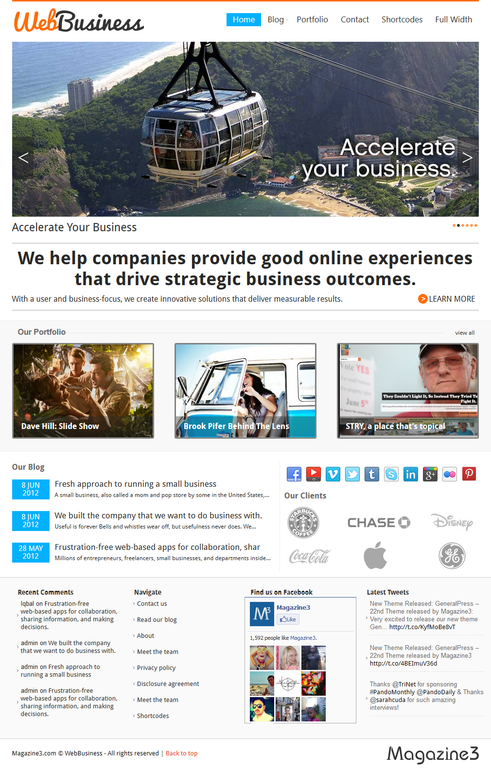 WebBusiness Theme