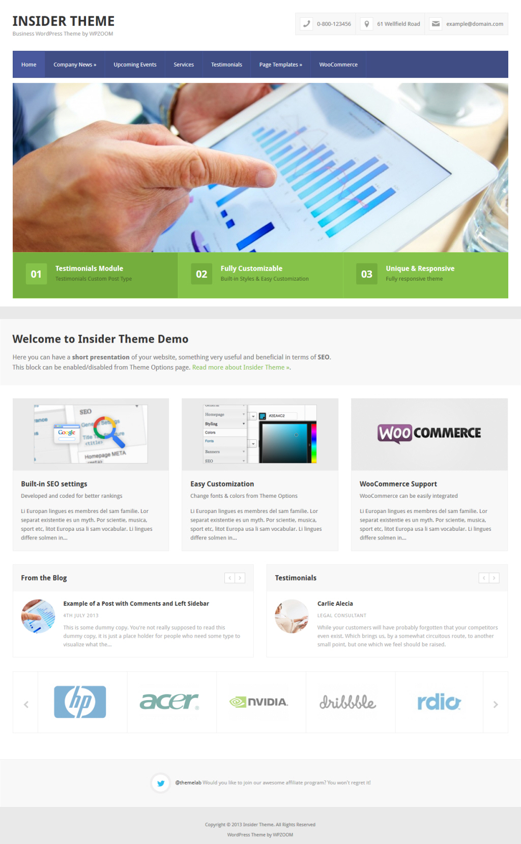 WPZOOM Insider Theme