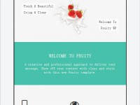 Fruity WP Theme