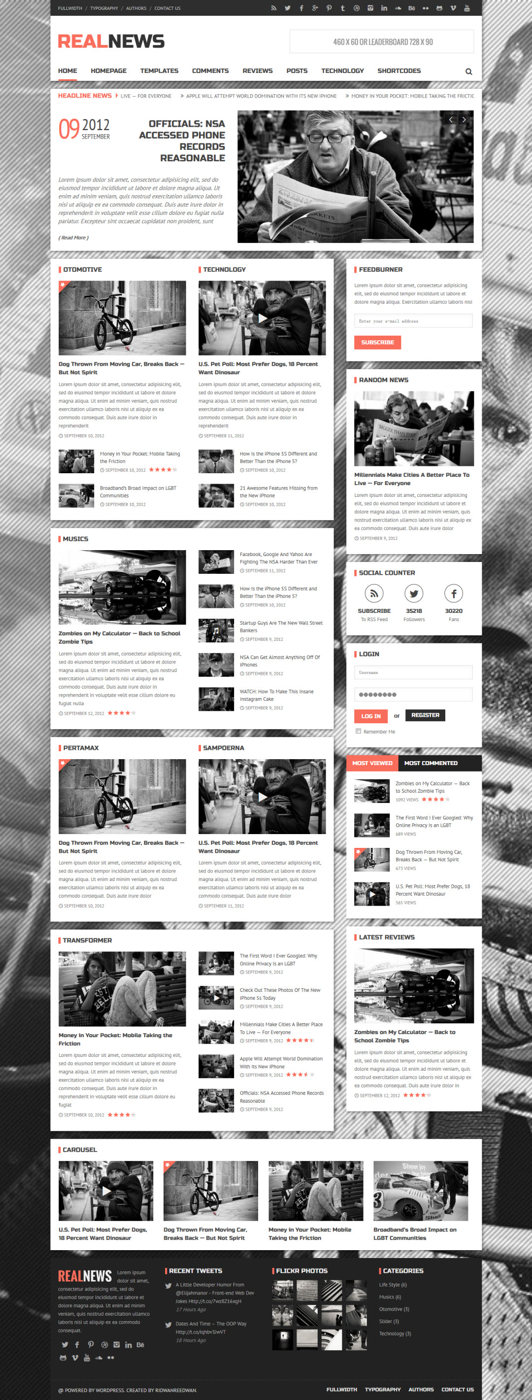 Realnews Theme