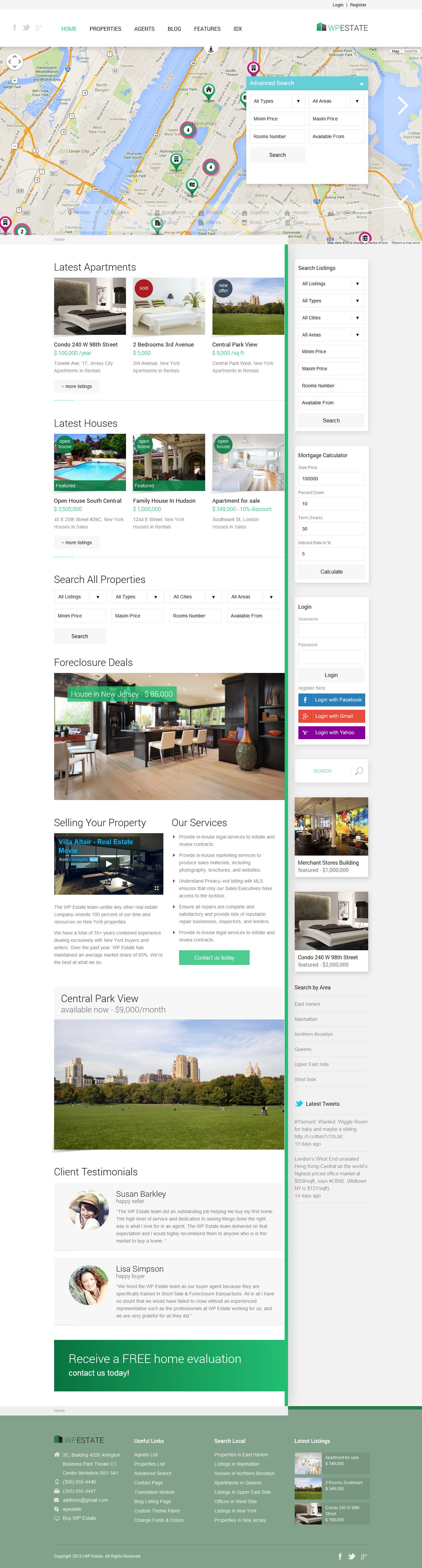 WP Estate Theme