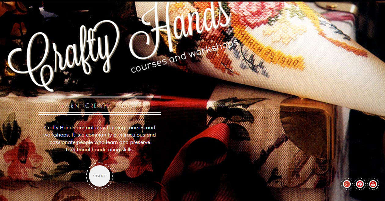 crafty hands Theme