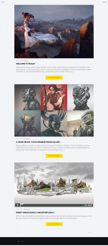 Best WordPress Mobile Themes for 2016