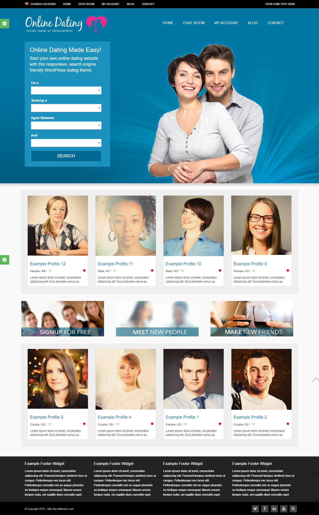 best dating theme wordpress Download high quality best free wordpress themes all gpl themes, use without restrictions, responsive, modern, clean and coded to the high standards.