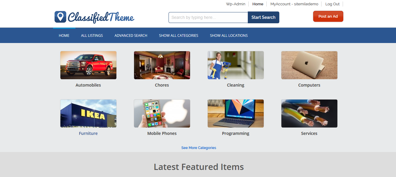 ClassifiedTheme theme