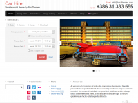 Car Hire theme