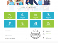 Cleaning company theme