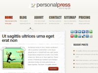 PersonalPress theme